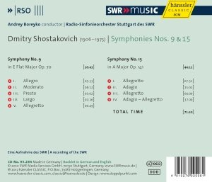 Sinfonien 9+15