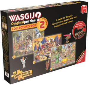 Jumbo 19100 - Wasgij Original Collector Box 2
