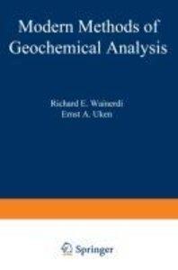 Modern Methods of Geochemical Analysis