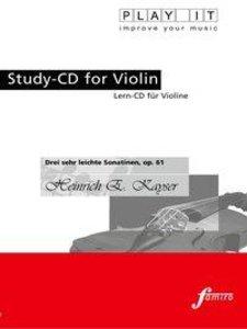 Drei sehr leichte Sonatinen, op. 61
