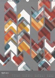 HYBRID COLLAGES (Wall Calendar 2015 DIN A3 Portrait)