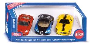 Siku 6301 - Sportwagen Set