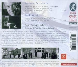 Concerto Pour Violon/Serenade