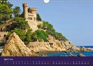 Costa Brava (Wandkalender 2016 DIN A4 quer)