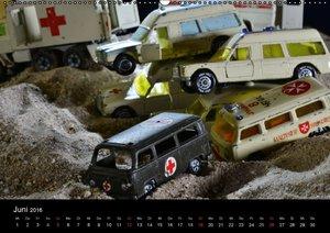 Modellautowracks (Wandkalender 2016 DIN A2 quer)