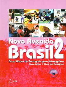 Novo Avenida Brasil A2. Kurs- und Übungsbuch + Audio-CD
