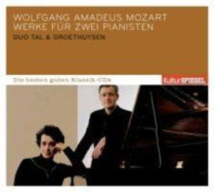 KulturSPIEGEL:Die besten guten-Werke f.2 Pianisten