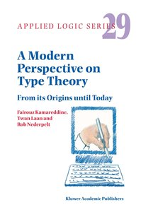 A Modern Perspective on Type Theory