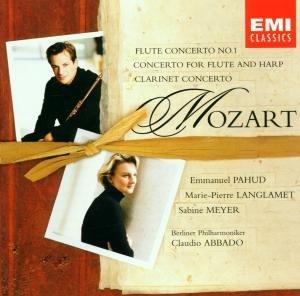 Konzert F.Flöte,Harfe+Klarin.