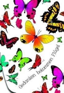 Notizfolder Schmetterling