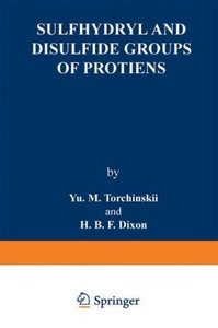 Sulfhydryl and Disulfide Groups of Proteins