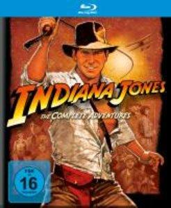 Indiana Jones - The Complete Adventures (Blu-ray, 5 Discs)