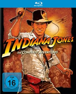 Indiana Jones - The Complete Adventures (Blu-ray, 5 Discs)