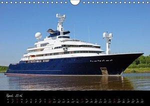 Schiffe - Unterwegs in Norddeutschland (Wandkalender 2016 DIN A4
