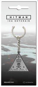 Hitman - Metall-Schlüsselanhänger - ICA Symbol