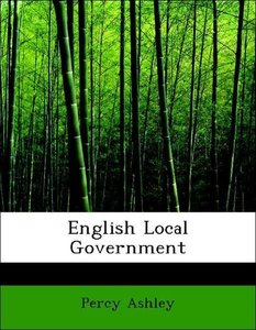 English Local Government