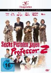 Sechs Pistolen jagen Professor