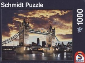 Tower Bridge London, 1.000 Teile Puzzle