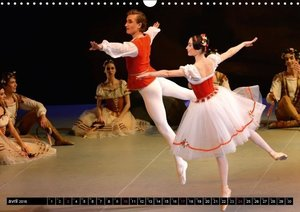 Giselle Yacobson Ballet (Calendrier mural 2016 DIN A3 horizontal