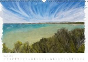 Painterly Sorrento (Wall Calendar 2015 DIN A3 Landscape)