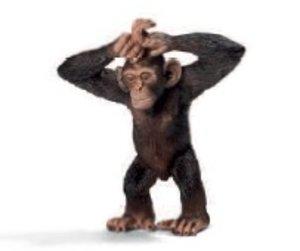 Schleich 14680 - Wild Life: Schimpansen-Junges
