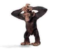 Schleich 14680 - Wild Life: Schimpansen-Junges - zum Schließen ins Bild klicken