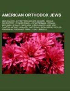 American Orthodox Jews