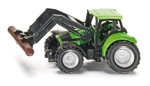 Siku 1380 - Super Deutz Traktor mit Baumstammgreifer