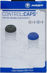 snakebyte - control:caps - Aufsätze für Dualshock 4 Controller (