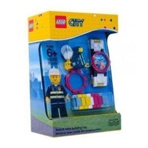 Universal Trends CT00345 - LEGO City: Kinderuhr, Feuerwehr
