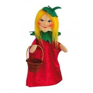 Kersa 140204 - Erdbeerfeechen Elli Handpuppe