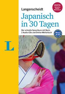 Langenscheidt Japanisch in 30 Tagen - Set mit Buch und 2 Audio-C