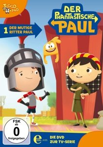 (1)DVD z TV-Serie-Der Mutige Ritter Paul