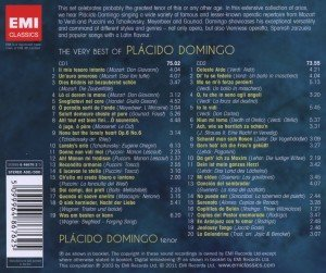 The Very Best Of Placido Domingo