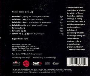 Ballades,Berceuse,Barcarolle,Scherzo/+