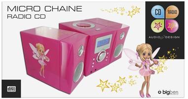 Kompaktanlage - Stereo Music Center MCD04 (Feen-Motiv) - zum Schließen ins Bild klicken