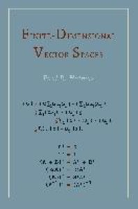 Finite Dimensional Vector Spaces