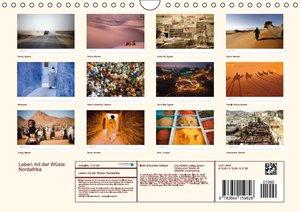 Leben mit der Wüste: Nordafrika (Wandkalender 2016 DIN A4 quer)