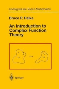 An Introduction to Complex Function Theory