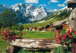 Am Karwendel-Massiv, 1.500 Teile Puzzle