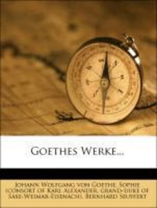 Goethes Werke. IV. Abtheilung. II. Band.