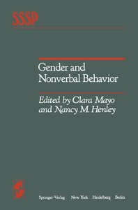 Gender and Nonverbal Behavior