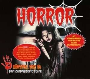 Horror Hörspiel Box 01-Drei Gnadenlose Slasher