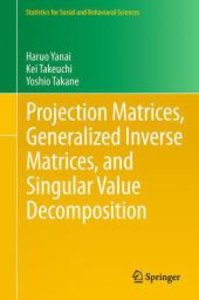 Projection Matrices, Generalized Inverse Matrices, and Singular