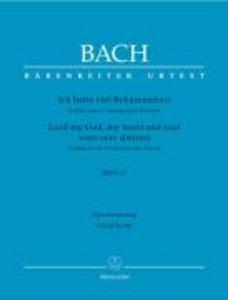 Ich hatte viel Bekümmernis BWV 21