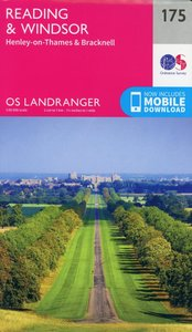 Reading, Windsor, Henley-on-Thames & Bracknell 1 : 50 000