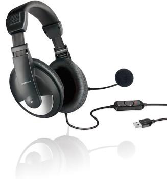 Speedlink THEBE Stereo Headset - USB, schwarz - zum Schließen ins Bild klicken