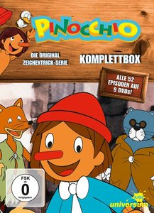 Pinocchio Komplettbox