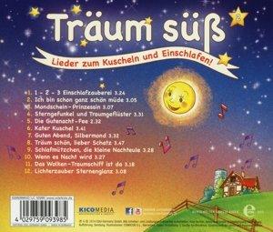 Träum Süß-(2)Lieder Zum Kuscheln Und Einschlafen!