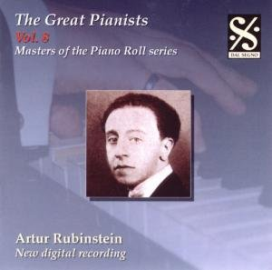 Great Pianists Vol.8/Rubinstein